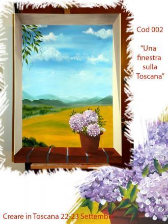 Trompe l 39 oeil easy 2 weekend creativo for Finestra 70x100
